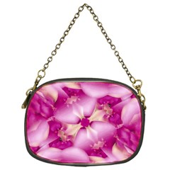 Beauty Pink Abstract Design Chain Purse (one Side) by dflcprints