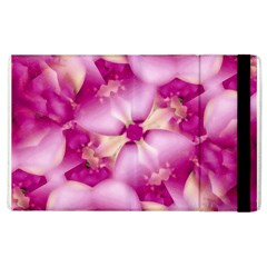 Beauty Pink Abstract Design Apple Ipad 3/4 Flip Case by dflcprints