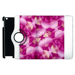 Beauty Pink Abstract Design Apple Ipad 3/4 Flip 360 Case by dflcprints