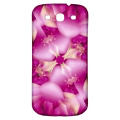 Beauty Pink Abstract Design Samsung Galaxy S3 S Iii Classic Hardshell Back Case by dflcprints