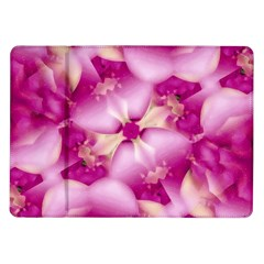 Beauty Pink Abstract Design Samsung Galaxy Tab 10 1  P7500 Flip Case by dflcprints