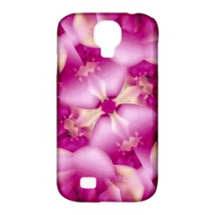 Beauty Pink Abstract Design Samsung Galaxy S4 Classic Hardshell Case (pc+silicone) by dflcprints