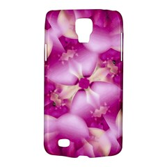 Beauty Pink Abstract Design Samsung Galaxy S4 Active (i9295) Hardshell Case by dflcprints