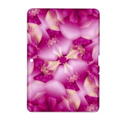 Beauty Pink Abstract Design Samsung Galaxy Tab 2 (10.1 ) P5100 Hardshell Case
