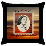 mominheaven - Throw Pillow Case (Black)