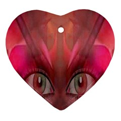 Hypnotized Heart Ornament (two Sides) by icarusismartdesigns