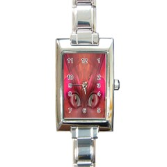 Hypnotized Rectangular Italian Charm Watch by icarusismartdesigns