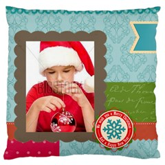 Xmas By Xmas4   Large Cushion Case (two Sides)   Lij86ruoy2do   Www Artscow Com Back