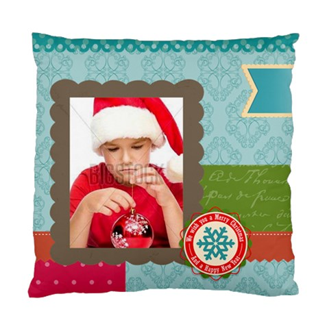 Xmas By Xmas4   Standard Cushion Case (one Side)   Faxp9z2tsvc1   Www Artscow Com Front