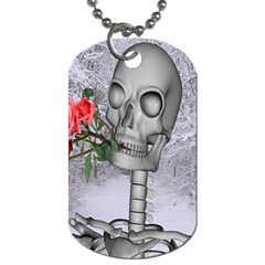 Looking Forward To Spring Dog Tag (one Sided) by icarusismartdesigns