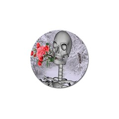Looking Forward To Spring Golf Ball Marker by icarusismartdesigns