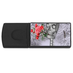 Looking Forward To Spring 4gb Usb Flash Drive (rectangle) by icarusismartdesigns