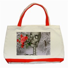 Looking Forward To Spring Classic Tote Bag (red) by icarusismartdesigns