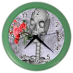 Looking Forward To Spring Wall Clock (Color) by icarusismartdesigns