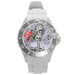 Looking Forward To Spring Plastic Sport Watch (large) by icarusismartdesigns