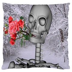Looking Forward To Spring Large Cushion Case (single Sided)  by icarusismartdesigns