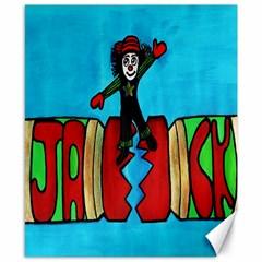 CRACKER JACK Canvas 8  x 10  (Unframed)