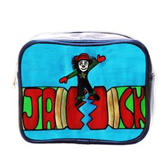 Cracker Jack Mini Travel Toiletry Bag (one Side) by JUNEIPER07