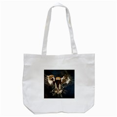 Golden Eagle Tote Bag (white) by JUNEIPER07