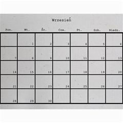 Kalendarzmateja By Magdalena   Wall Calendar 11  X 8 5  (12 Months)   32slfir7v18g   Www Artscow Com Sep 2015