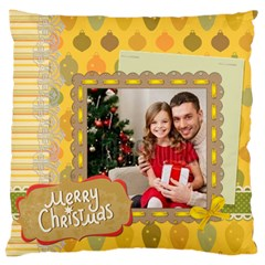 Xmas By Xmas4   Large Cushion Case (two Sides)   Hv7zawr2q3fr   Www Artscow Com Back
