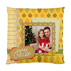 Xmas By Xmas4   Standard Cushion Case (two Sides)   Vneclflupeon   Www Artscow Com Front