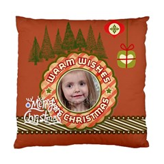 Xmas By Xmas   Standard Cushion Case (two Sides)   Etsqe0i1iw8h   Www Artscow Com Front