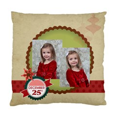 Xmas By Xmas   Standard Cushion Case (two Sides)   Fa925wmqrcm6   Www Artscow Com Front