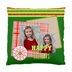 Xmas By Xmas   Standard Cushion Case (two Sides)   Mddvc0r76aus   Www Artscow Com Back