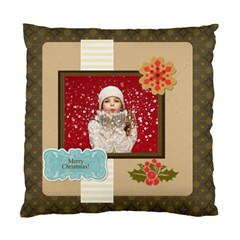 Xmas By Xmas   Standard Cushion Case (two Sides)   98jqtij4t1dg   Www Artscow Com Front