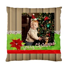 Xmas By Xmas   Standard Cushion Case (two Sides)   Mu39iwlrj3vt   Www Artscow Com Front