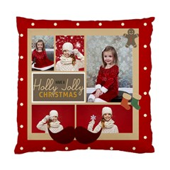 Xmas By Xmas   Standard Cushion Case (two Sides)   Fybegwq5x9bc   Www Artscow Com Front