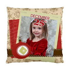 Xmas By Xmas   Standard Cushion Case (two Sides)   8llxwddmacbv   Www Artscow Com Front