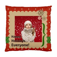 Xmas By Xmas   Standard Cushion Case (two Sides)   T9l0c6gojkkf   Www Artscow Com Front