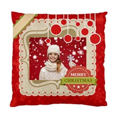 Xmas By Xmas   Standard Cushion Case (two Sides)   Z5c5qj365ith   Www Artscow Com Front