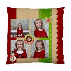 Xmas By Xmas   Standard Cushion Case (two Sides)   Qk6d6a9zs2w8   Www Artscow Com Front