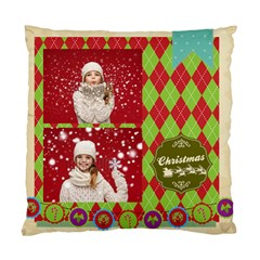 Xmas By Xmas   Standard Cushion Case (two Sides)   X09bcd4bcbvm   Www Artscow Com Front