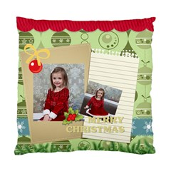 Xmas By Xmas   Standard Cushion Case (two Sides)   Qo1ratvzyzgf   Www Artscow Com Front