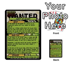 Sentinels 54 Card Promos By Sasha   Multi Purpose Cards (rectangle)   07y5jdkks28u   Www Artscow Com Front 6
