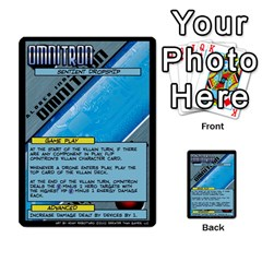 Sentinels 54 Card Promos By Sasha   Multi Purpose Cards (rectangle)   07y5jdkks28u   Www Artscow Com Back 53