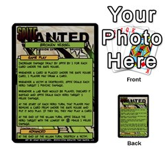 Sentinels 54 Card Promos By Sasha   Multi Purpose Cards (rectangle)   07y5jdkks28u   Www Artscow Com Back 6