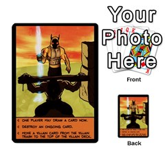 Sentinels 54 Card Promos By Sasha   Multi Purpose Cards (rectangle)   07y5jdkks28u   Www Artscow Com Back 9