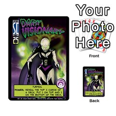 Sentinels 54 Card Promos By Sasha   Multi Purpose Cards (rectangle)   07y5jdkks28u   Www Artscow Com Front 2