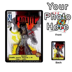 Sentinels 54 Card Promos By Sasha   Multi Purpose Cards (rectangle)   07y5jdkks28u   Www Artscow Com Front 12