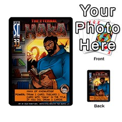Sentinels 54 Card Promos By Sasha   Multi Purpose Cards (rectangle)   07y5jdkks28u   Www Artscow Com Front 16