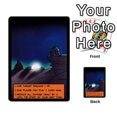 Sentinels 54 Card Promos By Sasha   Multi Purpose Cards (rectangle)   07y5jdkks28u   Www Artscow Com Back 16
