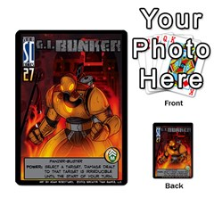 Sentinels 54 Card Promos By Sasha   Multi Purpose Cards (rectangle)   07y5jdkks28u   Www Artscow Com Front 19