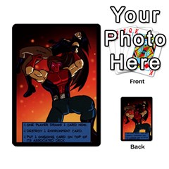 Sentinels 54 Card Promos By Sasha   Multi Purpose Cards (rectangle)   07y5jdkks28u   Www Artscow Com Back 20