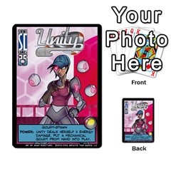 Sentinels 54 Card Promos By Sasha   Multi Purpose Cards (rectangle)   07y5jdkks28u   Www Artscow Com Front 3