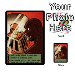 Sentinels 54 Card Promos By Sasha   Multi Purpose Cards (rectangle)   07y5jdkks28u   Www Artscow Com Back 21